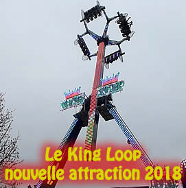 Le KING LOOP, nouvelle attraction 2018 du Family Park de Fos sur Mer